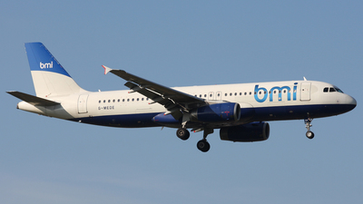 G-MEDE - Airbus A320-232 - bmi British Midland International