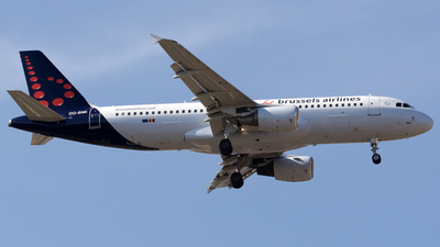 OO-SNK - Airbus A320-214 - Brussels Airlines
