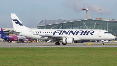 A picture of OHLKH - Embraer E190LR - Finnair - © Filip Danielczyk