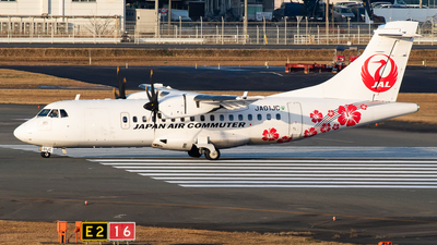 JA01JC - ATR 42-600 - Japan Air Commuter (JAC)