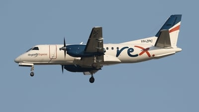 A picture of VHZPC - Saab 340B+ - Regional Express - © James Saunders