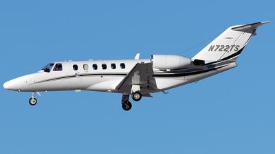 N722TS - Cessna 525A CitationJet 2 - Private