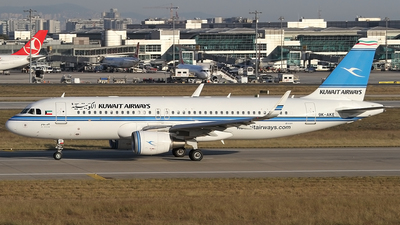 A picture of 9KAKE - Airbus A320214 - Kuwait Airways - © Ilgaz DEGER