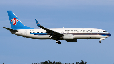 B-1408 - Boeing 737-81B - China Southern Airlines