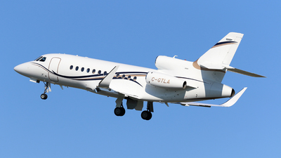 A picture of CGTLA - Dassault Falcon 900EX - [260] - © Michael Durning
