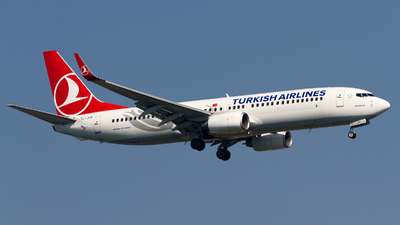TC-JHA - Boeing 737-8F2 - Turkish Airlines