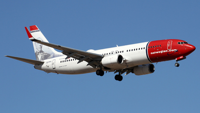EI-FHV - Boeing 737-8JP - Norwegian