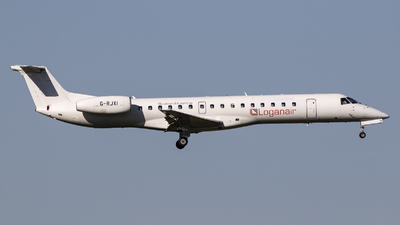 G-RJXI - Embraer ERJ-145EP - Loganair