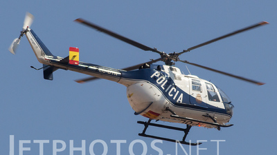 EC-DYN - MBB Bo105 - Spain - Police
