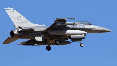 84-1302 - General Dynamics F-16C Fighting Falcon - United States - US Air Force (USAF)