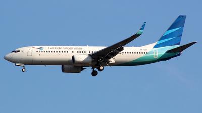 A picture of PKGNT - Boeing 7378U3 - Garuda Indonesia - © Panji Anggoro