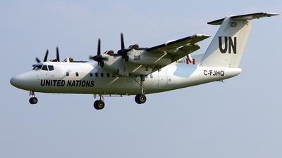 C-FJHQ - De Havilland Canada DHC-7-103 Dash 7 - United Nations (Trans Capital Air)