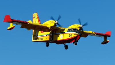 I-DPCY - Canadair CL-415 - Italy - Vigili del Fuoco