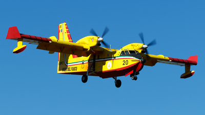 A picture of IDPCY - Canadair CL415 - [2047] - © Lorenzo Varin - AirTeamImages
