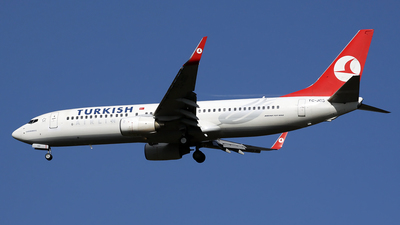 TC-JGS - Boeing 737-8F2 - Turkish Airlines