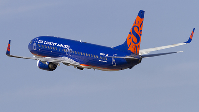 A picture of N808SY - Boeing 7378BK - Sun Country Airlines - © Jeremy D. Dando