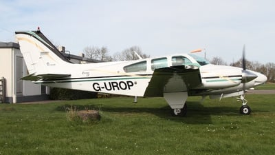 G-UROP - Beechcraft 95-B55 Baron - Private