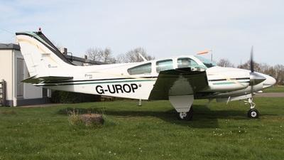 A picture of GUROP - Beech 95B55 Baron - [TC2452] - © Ian Johnson