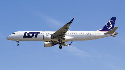 SP-LNG - Embraer 190-200IGW - LOT Polish Airlines