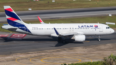 PR-TYD - Airbus A320-214 - LATAM Airlines