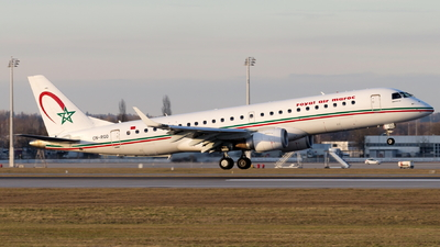 CN-RGQ - Embraer 190-100IGW - Royal Air Maroc (RAM)