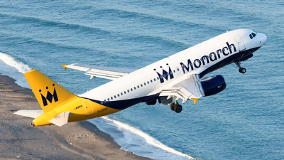 G-ZBAP - Airbus A320-214 - Monarch Airlines