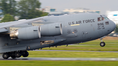 08-8196 - Boeing C-17A Globemaster III - United States - US Air Force (USAF)