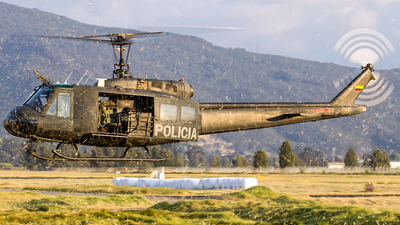 PNC-0724 - Bell UH-1H Huey II - Colombia - Police