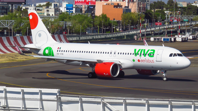 A picture of XAVIA - Airbus A320271N - VivaAerobus - © Diego Vázquez Spotter