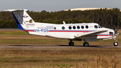 VH-FDS - Beechcraft B200 Super King Air - Royal Flying Doctor Service of Australia (Queensland Section)