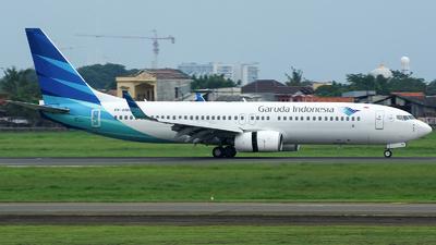 PK-GMO - Boeing 737-8U3 - Garuda Indonesia