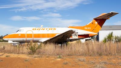 VH-ECE - Hawker Siddeley HS-125-3B - Qantas