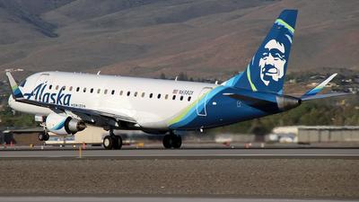 A picture of N638QX - Embraer E175LR - Alaska Airlines - © Nate Morin