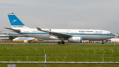 A picture of 9KAPB - Airbus A330243 - Kuwait Airways - © JC Pascual - Philippine Aviators