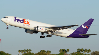 A picture of N149FE - Boeing 7673S2F(ER) - FedEx - © Westley Bencon