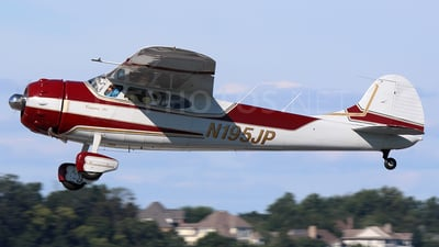 N195JP - Cessna 195 - Private