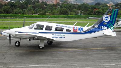 HK-4360 - Piper PA-34-200T Seneca II - MG Medical Group