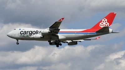 LX-YCV - Boeing 747-4R7F(SCD) - Cargolux Italia Airlines