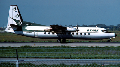 N4227 - Fairchild-Hiller FH-227B - Ozark Air Lines