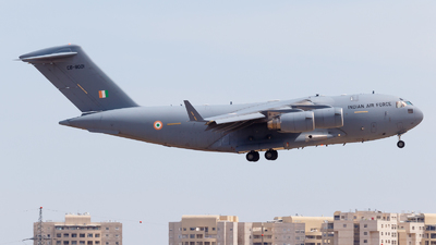 CB-8001 - Boeing CC-177 Globemaster III - India - Air Force