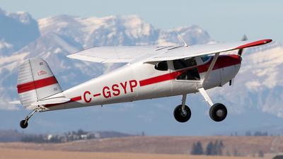 C-GSYP - Cessna 140A - Private