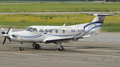 A picture of RA01508 - Pilatus PC12/45 - [471] - © Dmitry Petrov