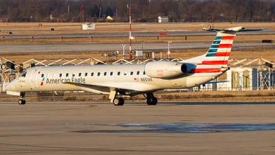 A picture of N651AE - Embraer ERJ145LR - American Airlines - © Alex Crail