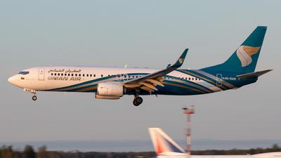 A picture of A4OBAB - Boeing 73781M - Oman Air - © Sebastian Sowa