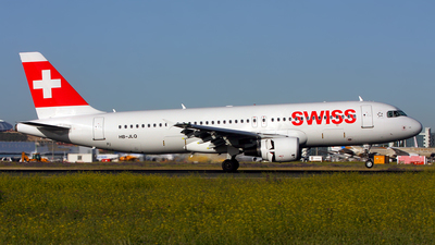 HB-JLQ - Airbus A320-214 - Swiss
