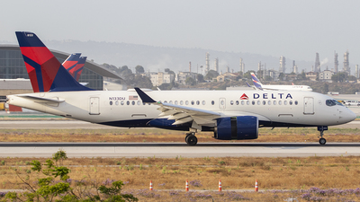 A picture of N133DU - Airbus A220100 - Delta Air Lines - © Nelson Mejia