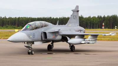 39829 - Saab JAS-39D Gripen - Sweden - Air Force