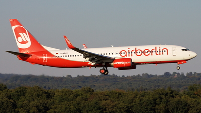 D-ABKK - Boeing 737-86J - Air Berlin