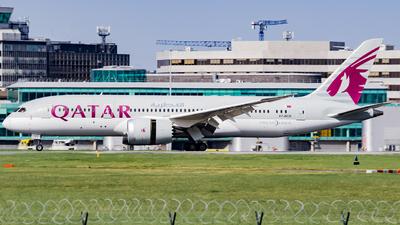 A picture of A7BCB - Boeing 7878 Dreamliner - Qatar Airways - © kchavgeek96