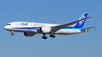 JA878A - Boeing 787-8 Dreamliner - All Nippon Airways (ANA)